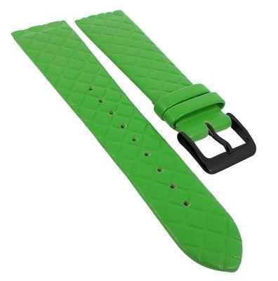 Minott Uhrenarmband | Leder grün Raute passend zu Skagen 29779 – Bild 5