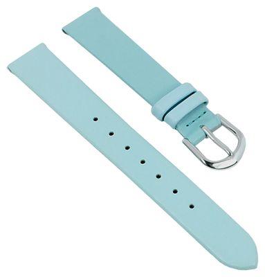 Minott | Kinder Uhrenarmband 14mm Kunstleder hellblau 29829 – Bild 1