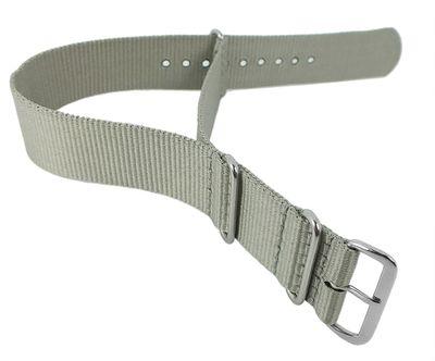 Nato-Band XL Uhrenarmband 18mm Nylon | Minott Durchzugsband 29862 – Bild 4