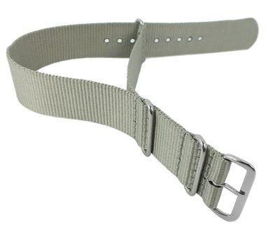 Nato-Band XL Uhrenarmband 24mm Nylon | Minott Durchzugsband 29868 – Bild 7