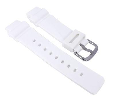 Baby-G Armband   für BGA-210-7B1 Resin weiß Casio 10510211 – Bild 1
