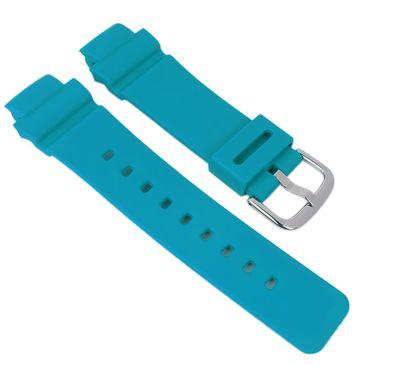 Baby-G Armband   für BGA-210-2B Resin blau Casio 10510209 – Bild 1