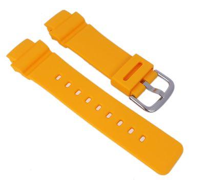 Baby-G Armband   für BGA-210-4B Resin gelb Casio 10510210 – Bild 1