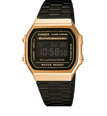 Casio Collection der Klassiker Digitaluhr Stoppfunktion A168WEGB-1BEF