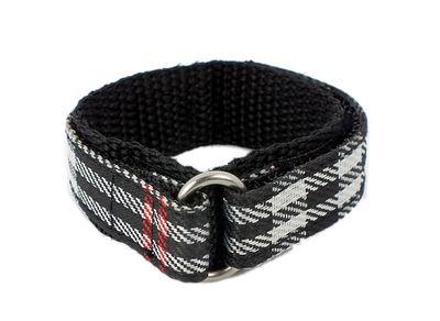 s.Oliver SO-1856-LQ | Kinderarmband Durchzugsband Klett-Band Textil merhfarbig 15mm – Bild 2