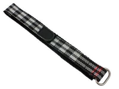s.Oliver SO-1856-LQ | Kinderarmband Durchzugsband Klett-Band Textil merhfarbig 15mm – Bild 1