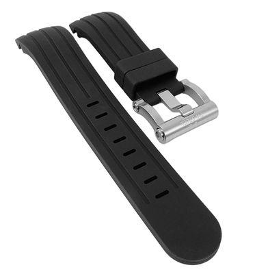 TW STEEL Grandeur Uhrenarmband 22mm | Kautschuk schwarz für TW120 – Bild 1
