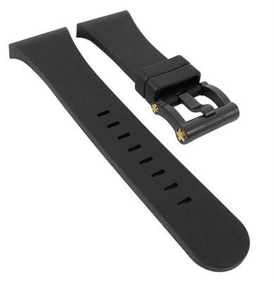 TW STEEL CEO Tech Uhrenband | Silikon schwarz - Renault F1 Team TWB682 – Bild 1