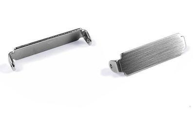 Casio   Wave Ceptor WVA-M640 WVA-M650 WVQ-M410 2x End Link Endstück Edelstahl