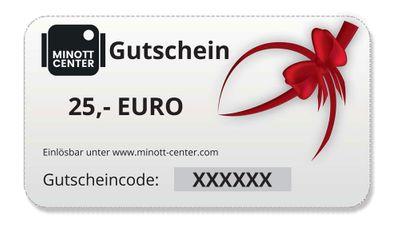Minott Center | Geschenk-Gutschein im Wert von 25 Euro