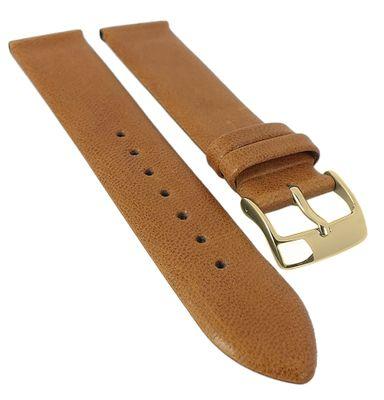 BARINGTON Cordero Uhrenarmband | weiches Lammnappa, rembordiert 29983G – Bild 5