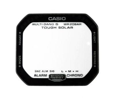 Casio G-Shock Uhrenglas | Mineral eckig mit Aufdruk GW-M5610TH