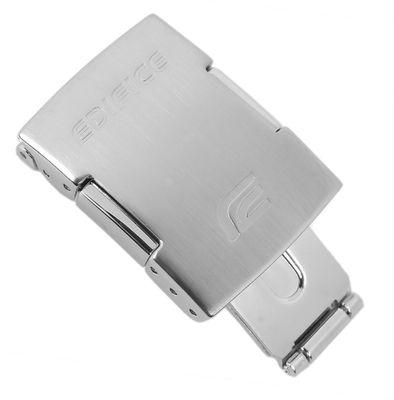 Casio Edifice Faltschließe 20mm Edelstahl | 10486500 ERA-500D EQB-700D – Bild 1