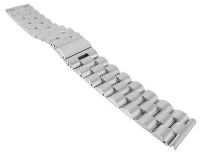 Uhrenarmband 22mm | Massiv Edelstahl hochwertige Verarbeitung 30114 – Bild 6