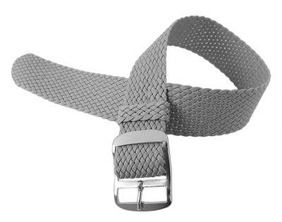 Minott Uhrenarmband 18mm | Durchzugsband Perlon geflochten 30117 – Bild 4