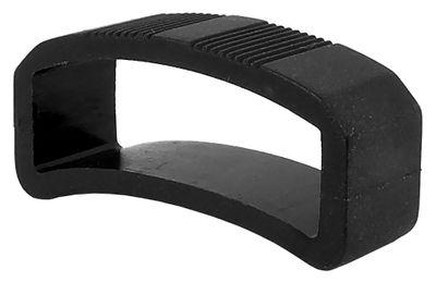 Festina F16350 | Schlaufe schwarz für Uhrenarmbänder aus Kautschuk