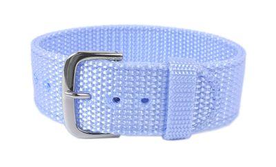 Baby-G Armband | Durchzugsband Textil 20mm für Casio BG-153B blau – Bild 1