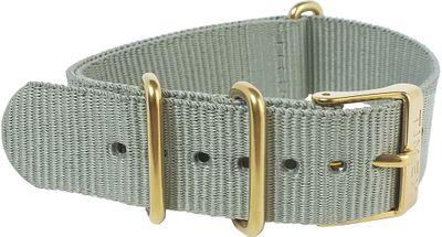Timex Originals Durchzugsband Nato-Band Textil grau 18mm TW2P88500