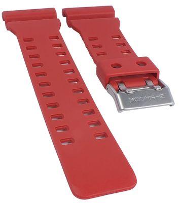 G-Shock Uhrenarmband XL-Länge | Resin rot Casio GA-100C GA-110AC – Bild 1
