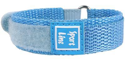 Minott Sport-Line | Uhrenarmband Durchzugsband Klettband Blau 16mm – Bild 2