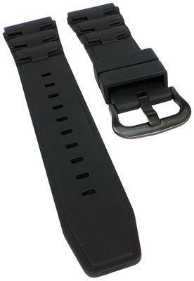 Armband Collection | für Casio MTD-1068B aus Resin schwarz  – Bild 1