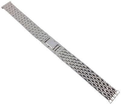 Minott Uhrenarmband 14mm | Edelstahl silbern hochglanz 30608S – Bild 1