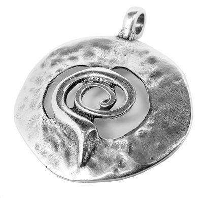 Minott Schmuck Anhänger | Medallion Messing im Used Look 30682