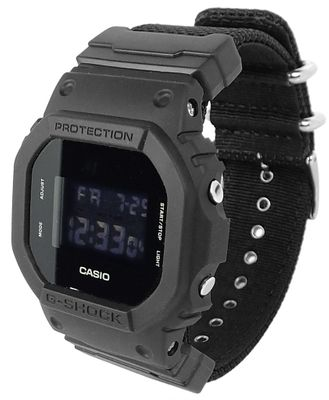 Casio G-Shock Herrenuhr | Digitaluhr Multifunktionsalarm DW-5600BBN-1E – Bild 1