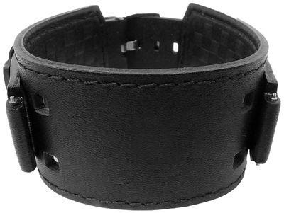 Casio Ersatzband | Unterlageband Leder schwarz für WV-300LA IRW-100BJ – Bild 1