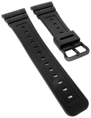 Casio Ersatzband   Uhrenarmband Resin schwarz für G-Shock DW-5600NH – Bild 1