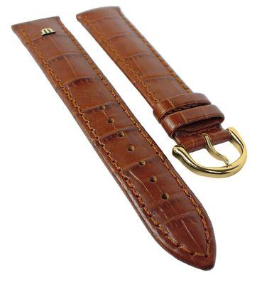 Maurice Lacroix Louisiana Imitat XL | Uhrenarmband Leder Braun 30814 – Bild 1