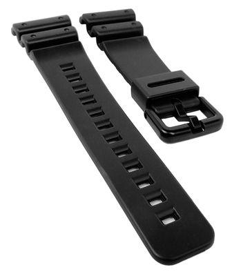 Casio G-Shock Ersatzband | Uhrenarmband Resin schwarz für DW-6900 – Bild 1