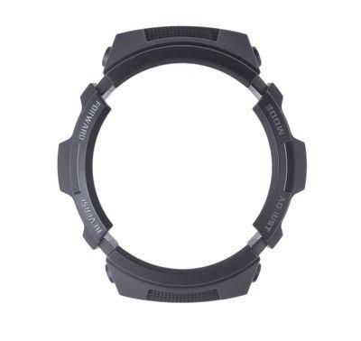 Casio Bezel | Ersatzteil Lünette schwarz für G-Shock AW-590 AWG-M100  – Bild 2