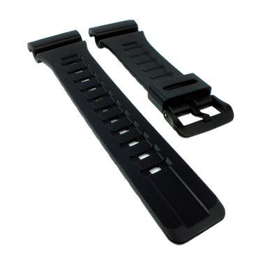 Casio Collection Ersatzband | Uhrenarmband Resin schwarz für AQ-S810W – Bild 1