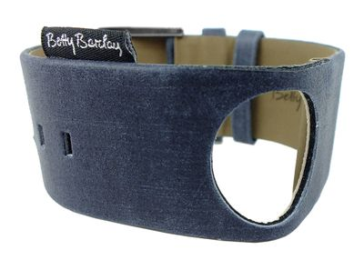 Betty Barclay Lovelight | Uhrenarmband Leder blaugrau 226.00.303.927 – Bild 2