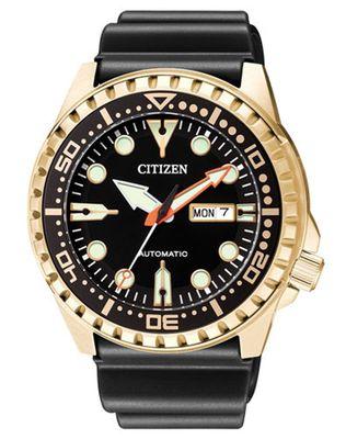Citizen Herren Automatikuhr | Edelstahl golden NH8383-17EE