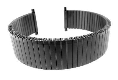 Minott | Zugband Edelstahl schwarz Teleskopanstoß 20mm 31280B – Bild 1