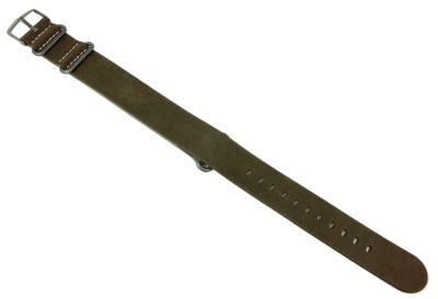 Timex Expedition Ersatzband | Durchzugsband 20mm grün für T4B04100