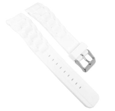 s.Oliver Uhrenarmband | Silikon weiß 20mm weich für SO-2291-PQ – Bild 1