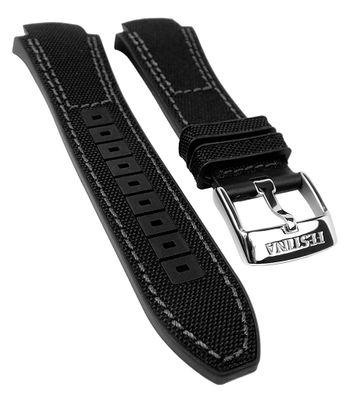 Festina Tourchrono 2017 Uhrenband Kautschuk/Textil schwarz/grau F20327 – Bild 1