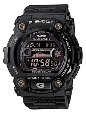 Casio G-Shock Herrenuhr | Funkuhr Solar digital schwarz GW-7900B-1ER