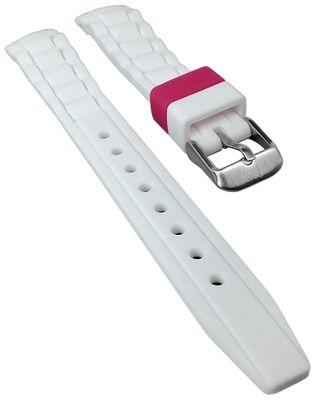 s.Oliver Uhrenarmband | Silikon weich weiß 14mm für SO-2592-PQ – Bild 1