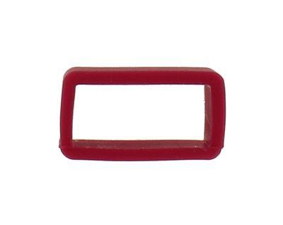 Minott Silikonschlaufe rot 14mm für Silikonuhrenbänder 31545
