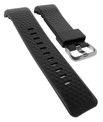 Casio Pro Trek Ersatzband | Uhrenarmband Resin schwarz WSD-F20-BK