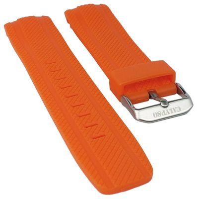 Calypso Ersatzband Kunststoff orange mit Struktur für Modell K5704/2 – Bild 1