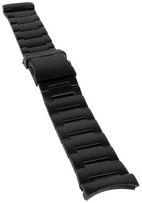 Jacques Lemans | Uhrenarmband Edelstahl schwarz, für JL Porto 1-1659 – Bild 1