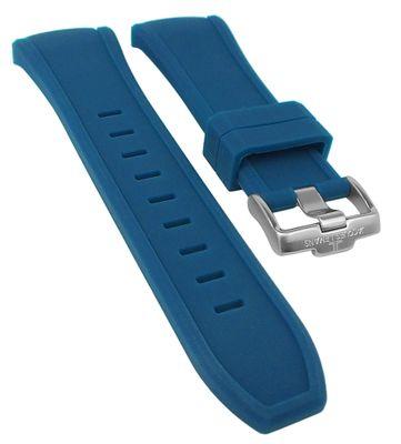 Jacques Lemans Miami ⇒ Uhrenarmband Silikon blau ⇒ 1-1784 ⇒ 1-1784C