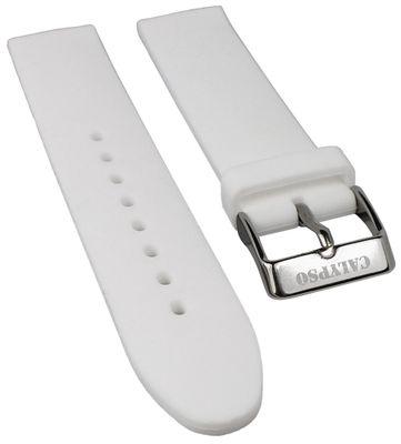 Calypso Ersatzband 18mm | Silikon weiß glatt weich für Modell K5733/1 – Bild 1