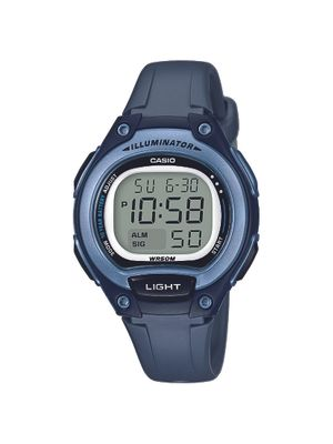 Casio Collection Uhr | Digital mit Stoppfunktion Resin LW-203-2AVEF
