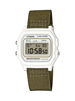 Casio Collection Uhr | Digital mit Stoppfunktion Textil W-59B-3AVEF